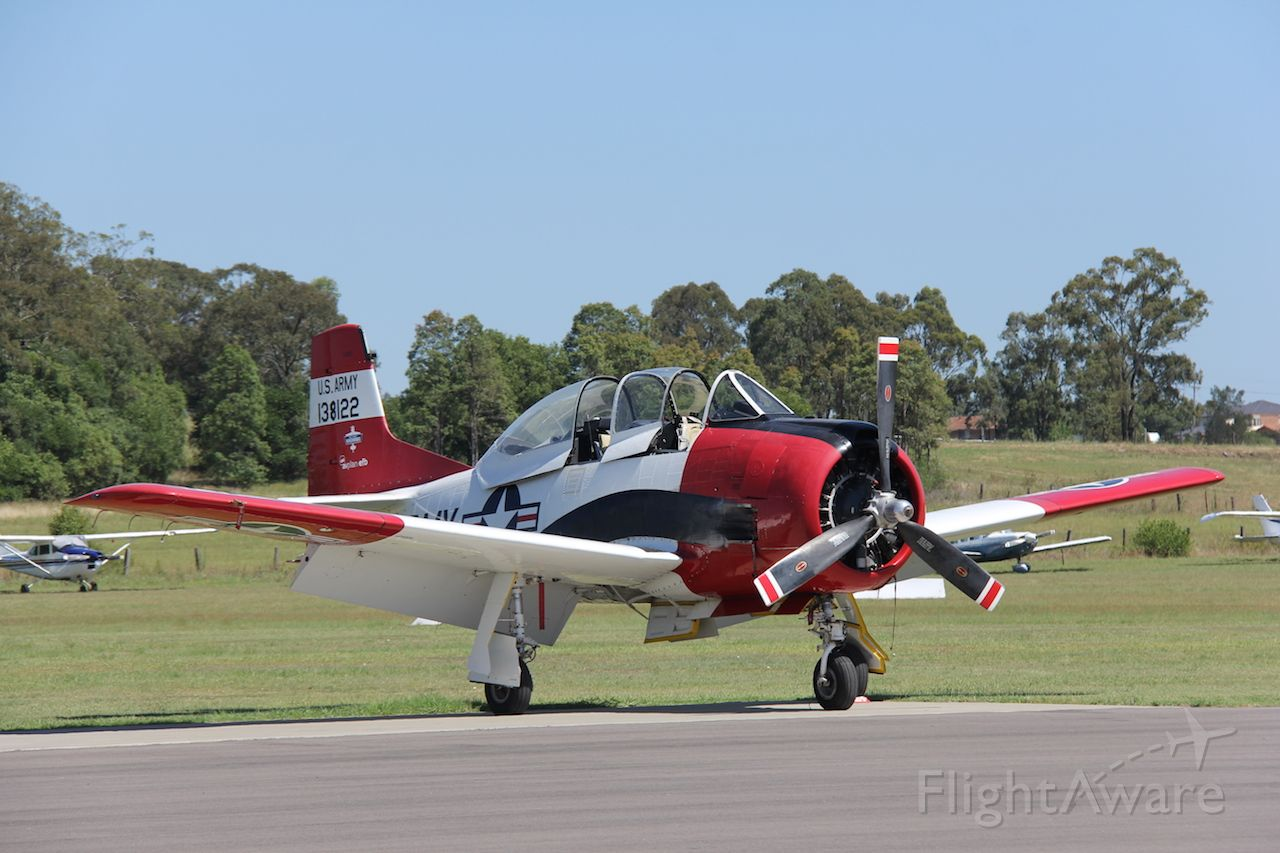 North American Trojan (VH-FNO) - T-28br /S/N 138122.br /Manufactured in 1954, USAbr /Photo: 28.01.2017