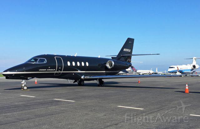 Cessna Citation Sovereign (N996UA) - Under Armour