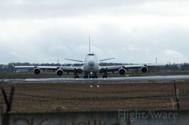 "Boeing 747-200 (LX-ECV) - 31.10.2020 - Novosibirsk ""Tolmachevo"""