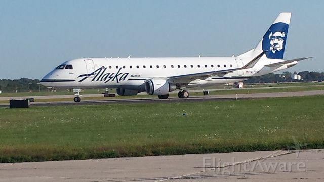 N173SY — - Delivered 6/18/15, this particular Embraer is owned by Alaska Airlines, but operated by SkyWest Airlines. She