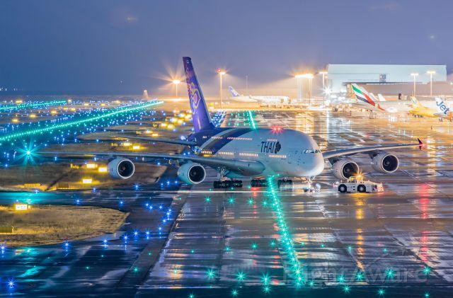 Airbus A380-800 (HS-TUA)