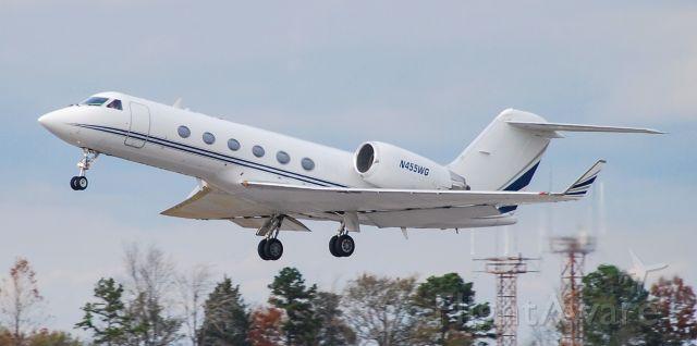 Gulfstream Aerospace Gulfstream IV (N455WG) - 11/22/20.