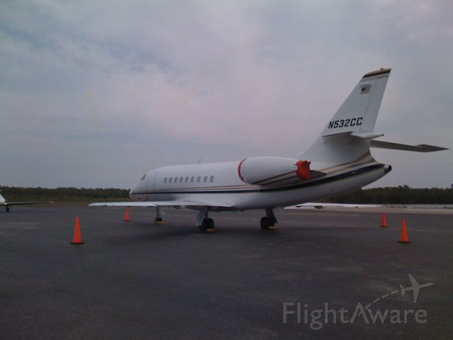 Dassault Falcon 2000 (N532CC)
