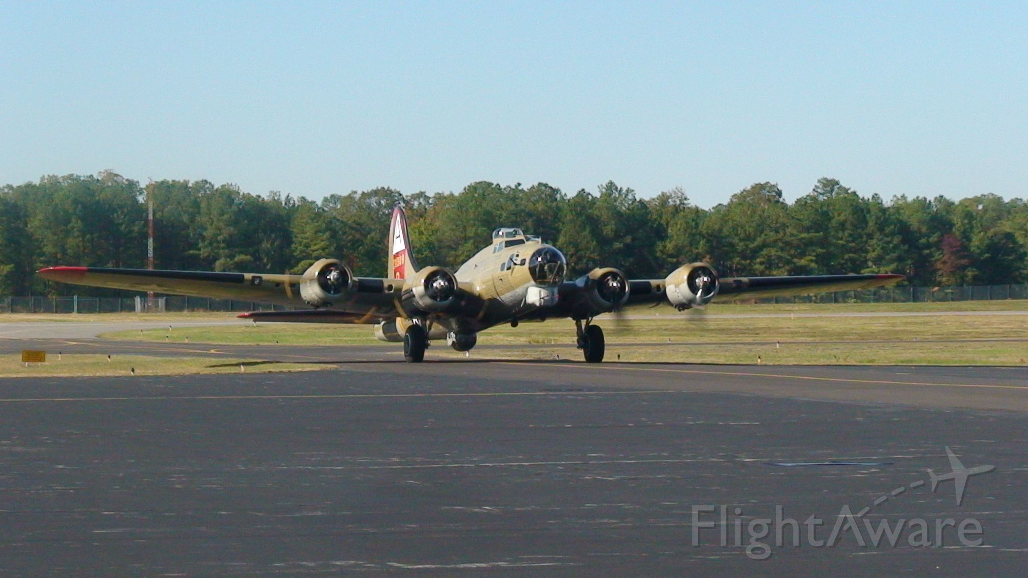Boeing B-17 Flying Fortress — - Collings Foundation planes at KFCI: October 2010