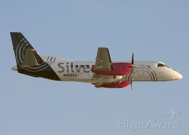 Saab 340 (N402XJ) - Departing KATL