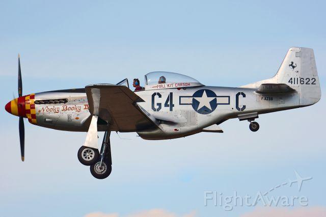 North American P-51 Mustang (F-AZSB) - OTT19, 'Nooky Booky IV'
