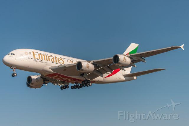 Airbus A380-800 (A6-EDD) - EK418 arriving from BKK