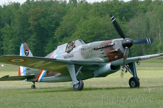 HB-RCF — - Morane Saulnier MS-412 (EKW D-3801), Swiss Historic Aircraft Collection, La Ferté-Alais Airfield (LFFQ), La Ferté-Alais Airfield (LFFQ) Air show 2012