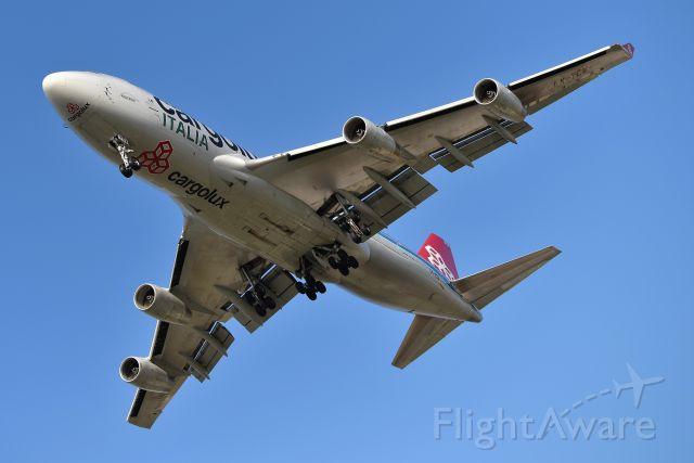 Boeing 747-400 (LX-YCV) - 23-R 11-20-20