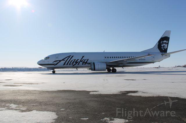 BOEING 737-300 — - alaska airlines combo freighter/ passenger a/c
