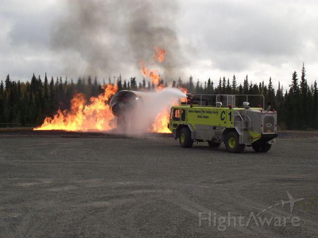 — — - ARFF Training in Kenai Alaska