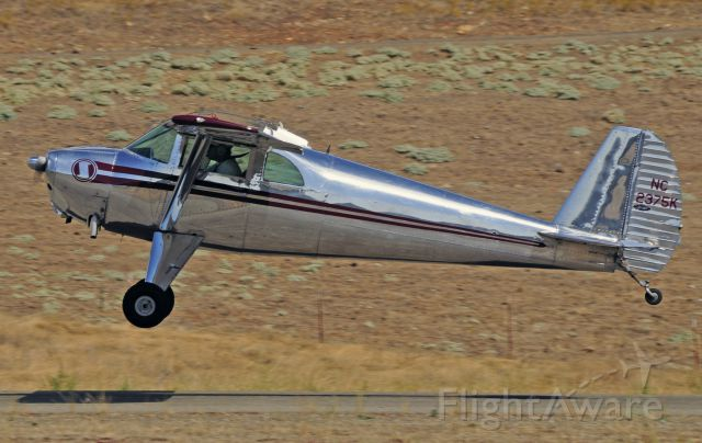 N2375K — - 1947 LUSCOMBE 8E at Mariposa Airports 2011 Fly-In