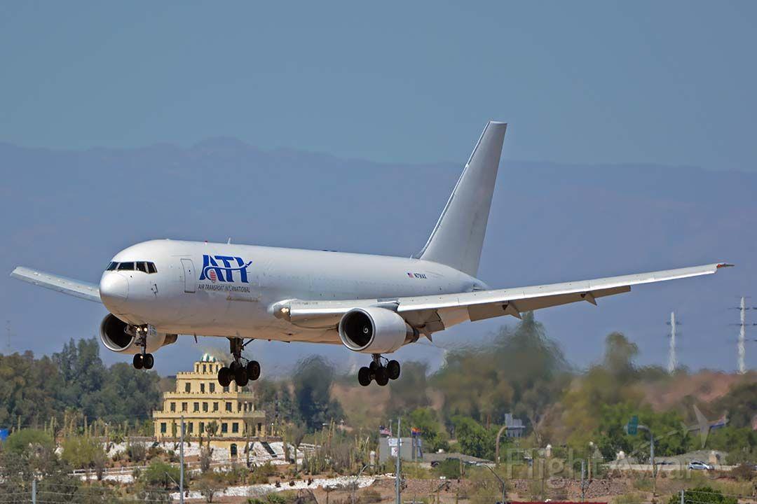 BOEING 767-200 (N791AX) - Air Transport International Boeing 767-291 N791AX at Phoenix Sky Harbor on May 25, 2018.