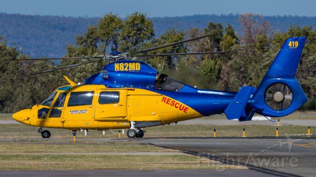 VOUGHT SA-366 Panther 800 (N82MD) - Arriving at Jandakot Airport from the East Coast of Australia, flying Sunshine Coast - Broken Hill - Port Augusta - Kalgoorlie - Jandakot.