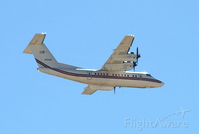 De Havilland Canada Dash 7 (N34HG) - US Army ALOMA86 doing options at KROW