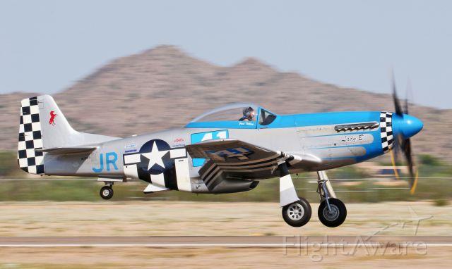 North American P-51 Mustang (N151FT) - Lady B