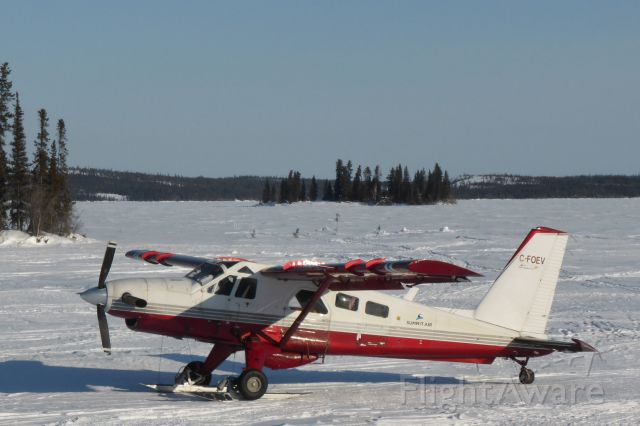 De Havilland Canada DHC-2 Mk1 Beaver (C-FOEV) - Turbo Beaver at Blachford Lake Lodge - going to Yellowknife, NWT
