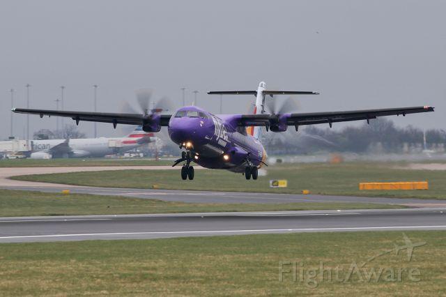 Aerospatiale ATR-72-500 (EI-REM) - BEE811 departing to the Isle of Man