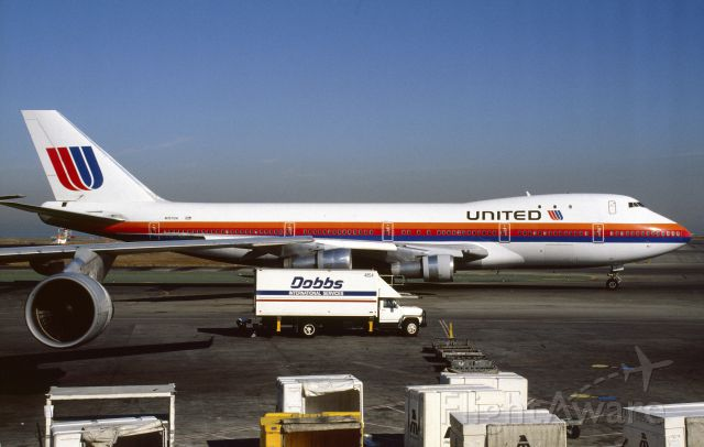 BOEING 747-100 (N157UA) - October 1991 at SFO