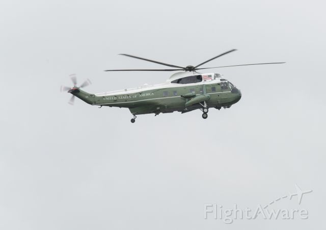 MARINEONE — - The US Marine One bringing the president back to Paine field airport where his Air Force One is waiting