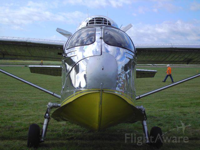REPUBLIC Seabee (C-FILM) - Edanvale Aerodrome 2010  Running an LS3 V8.