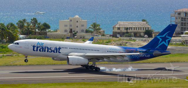 Airbus A330-300 (C-GTSN) - Touchdown!!!