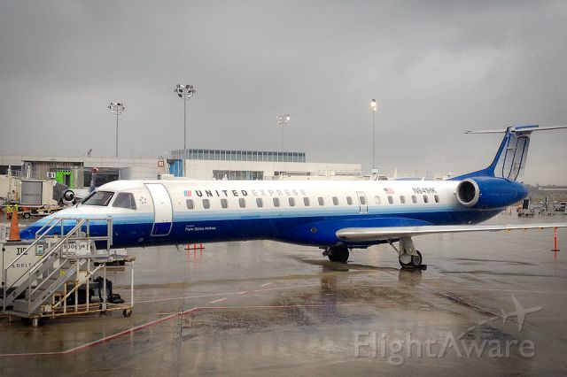 Embraer ERJ-145 (N841HK) - One of the older United Express ERJ
