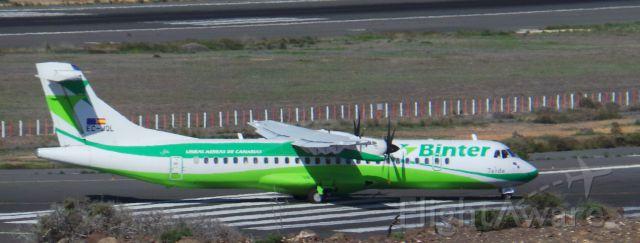 "EC-JQL — - EC-JQL Binter Canarias ATR-72-212A ""Teide"" LPA/GCLP Gran Canaria Spotting"