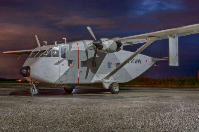 Short Skyvan (N196WW) - Short visit to CYHU, 21-08-2020.