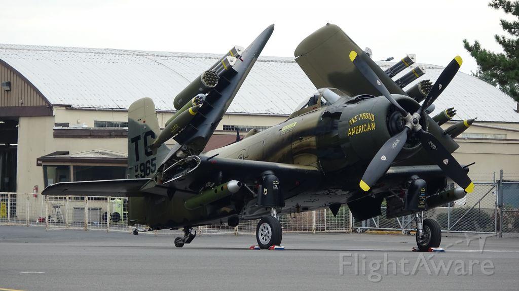 — — - A-1 Skyraider at Oregon Airshow 2018