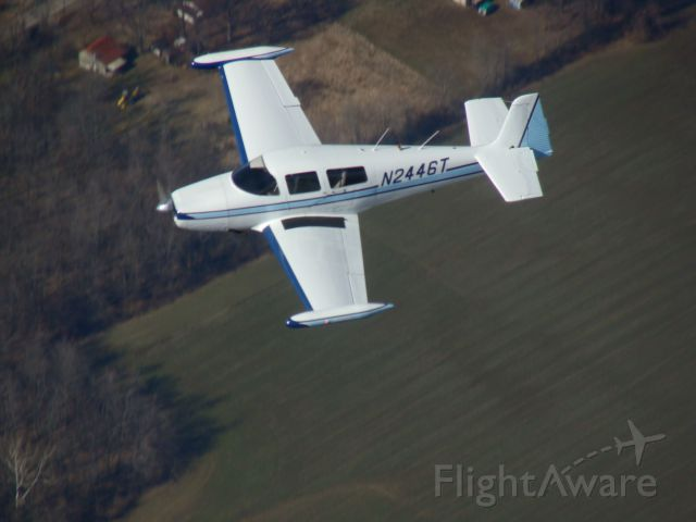 North American Navion (N2446T) - Flying over Clermont county, Ohio