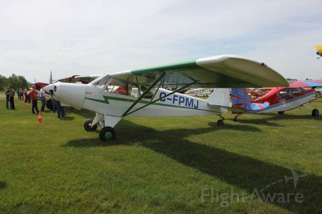 AMAX Sport 1700 (C-FPMJ) - C-FPMJ Sportrainer RVA Aéroport de Sherbrooke QC. CYSC 16-06-2018.