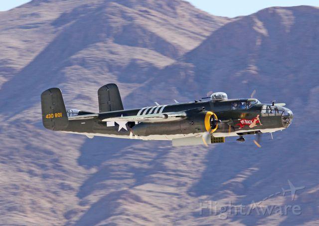 North American TB-25 Mitchell (N30801) - Las Vegas
