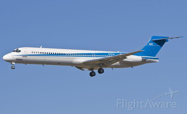McDonnell Douglas MD-87 (N287KB)