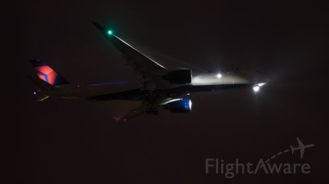Airbus A350-900 (N503DN) - Delivery flight