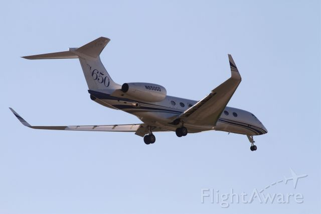 Gulfstream Aerospace Gulfstream G650 (N650GD) - Test Flight GLF54 Landed in Lincoln on 7-10-12