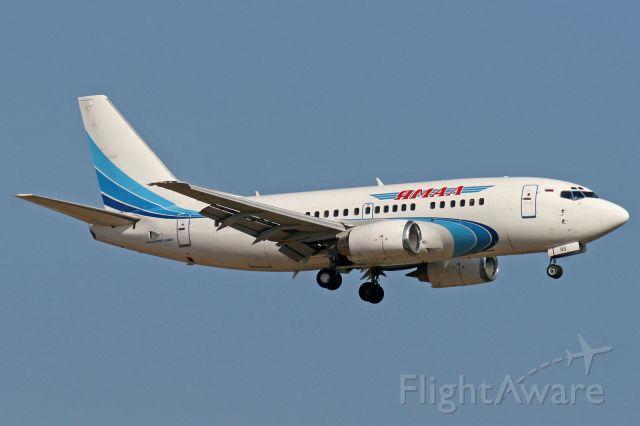 Boeing 737-500 (VP-BRS)