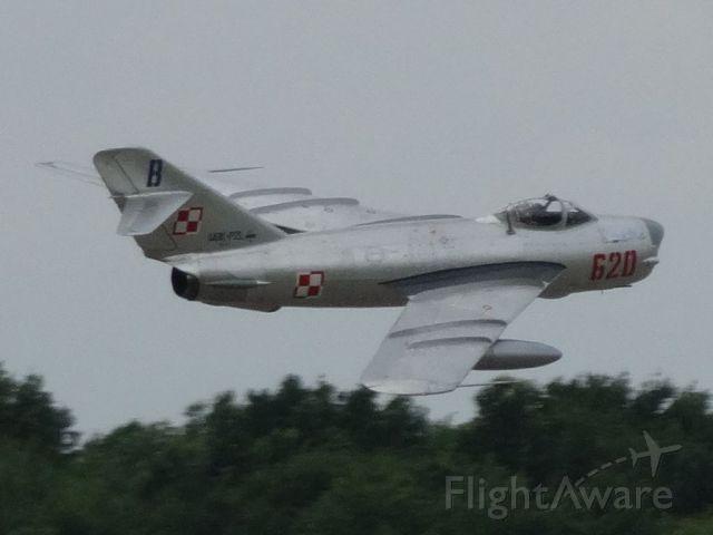 MIKOYAN MiG-17 (N620PF)