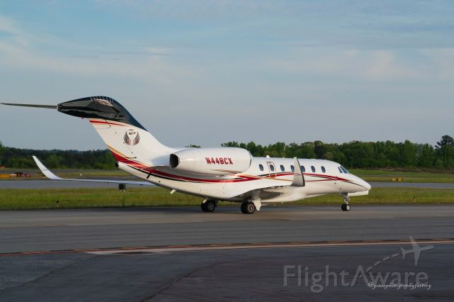 Cessna Citation X (N448CX) - Just arrived at PDK in Atlanta.
