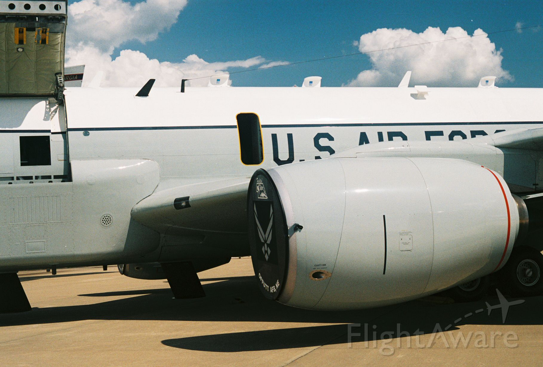 Boeing C-135B Stratolifter (64-4846) - USAF Boeing RC-135V, Rivet Joint, Ser. 64-14846 from 55th Wing, Offutt AFB, showing at the Barksdale AFB annual airshow in May 2005.