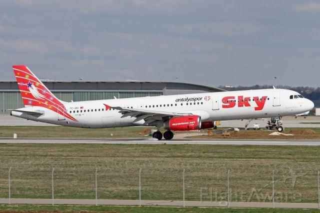 Airbus A321 (TC-SKI)