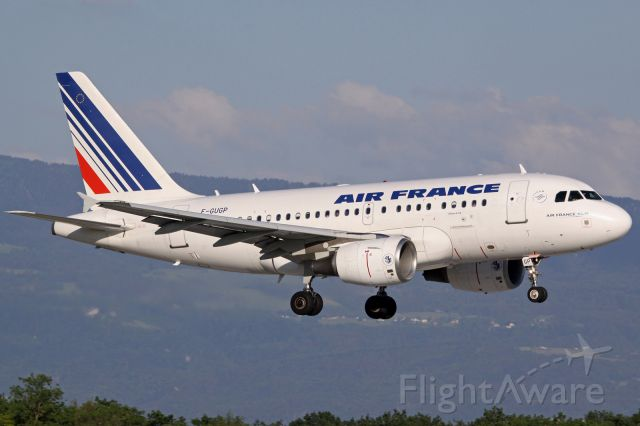 Airbus A318 (F-GUGP)