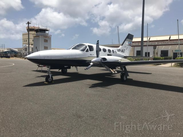"Cessna Chancellor (VP-ALT) - ""Experience the Magic"""