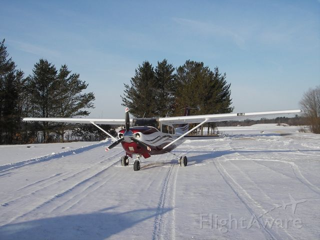 Cessna 206 Stationair (N6063K) - LANDING AT PREHN CRANBERRY FARM  20 below!