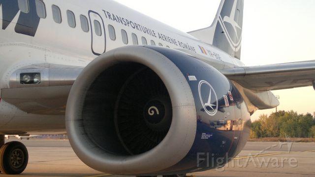 BOEING 737-300 (YR-BGE) - Before boarding at LROP (OTP)