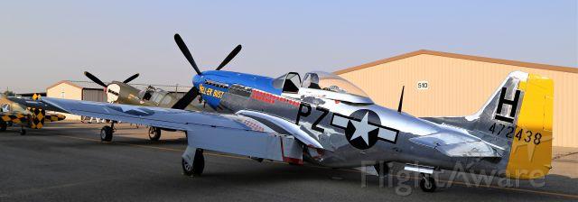 North American P-51 Mustang (N7551T) - Warbird Roundup 2018 at Warhawk Air Museum, Nampa, ID, 25 Aug 18