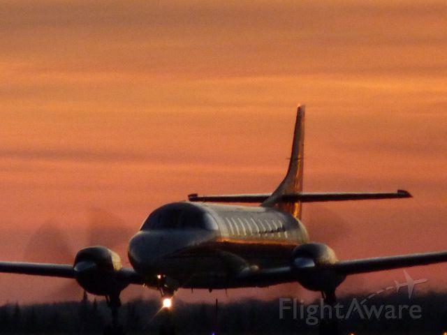 Fairchild Dornier SA-227DC Metro (C-GYHD) - sunset travel