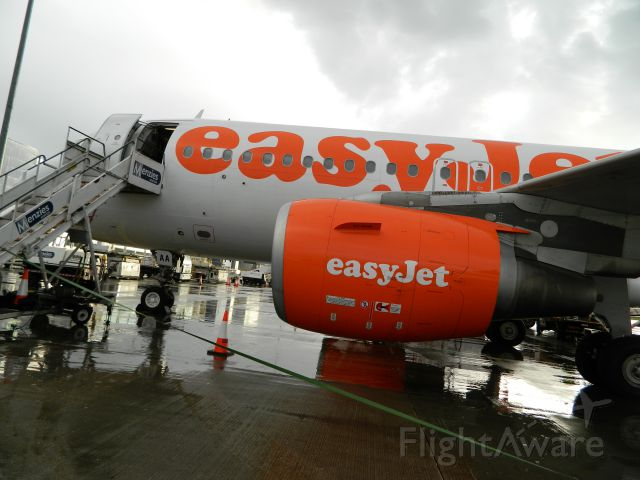 Airbus A319 (G-EZAA)