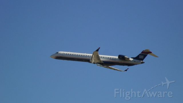 Canadair Regional Jet CRJ-900 (N933LR) - This photo was taken at the Charlotte Airport Overlook.
