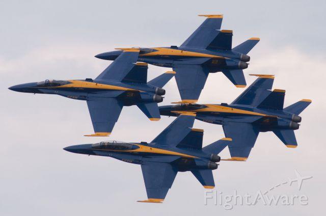 McDonnell Douglas FA-18 Hornet — - Blue Angels